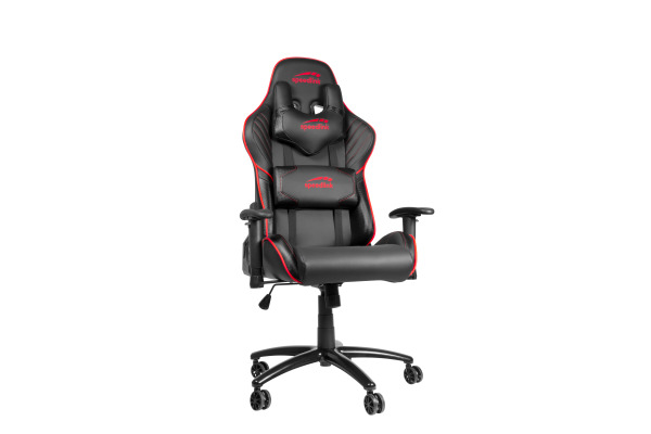 SPEEDLINK ZAYNE Gaming Chair SL660006B black/red, PU-leather