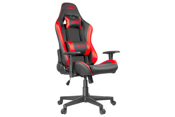 SPEEDLINK XANDOR Gaming Chair SL660005B black/red, PU-leather