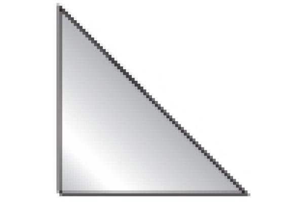 3L Dreieck Corner-Pockets 10x10cm 10014 transparent 100...