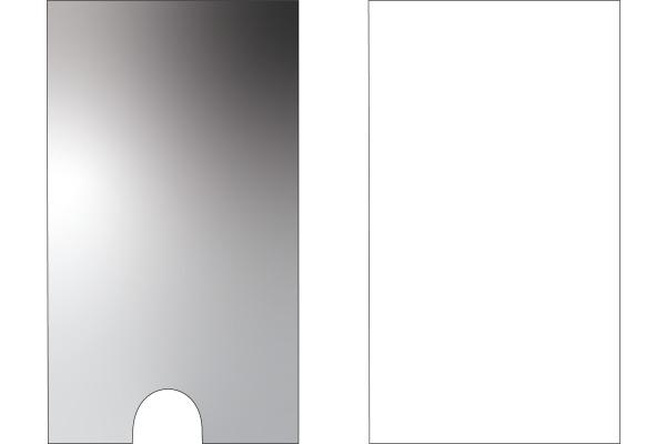 3L Sichtfenster 46x75mm 10330 transp. selbstklebend 6 Stück