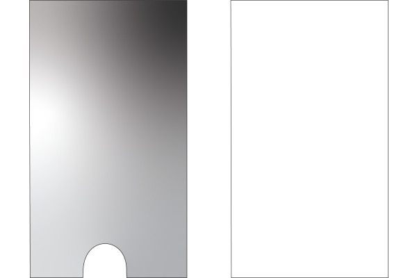 3L Sichtfenster 55x102mm 10335 P, transparent,...