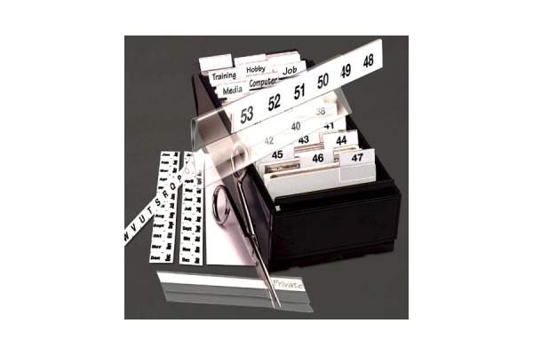 3L Kartenreiter bedruckt 10x150mm 10503 weiss, selbstklebend 5 Stück