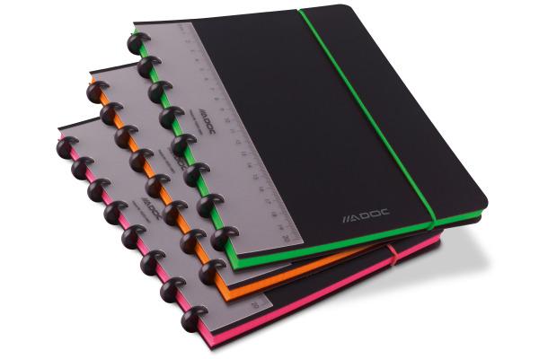 ADOC Ringbuch Coloredge A5 3048.35 kariert 144 Seiten