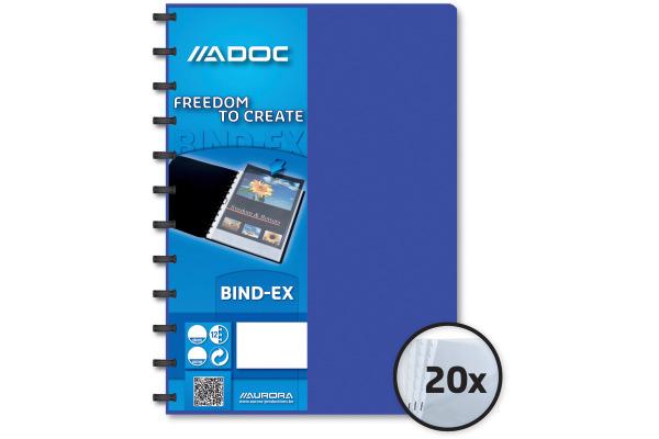 ADOC Sichtbuch A4 5822.4 blau