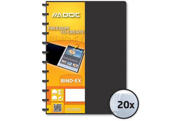 ADOC Sichtbuch A4 5822.7 schwarz
