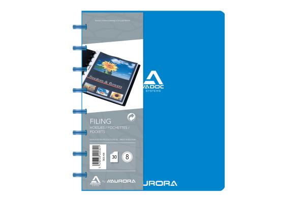ADOC Sichtbuch A5 5835.400 blau