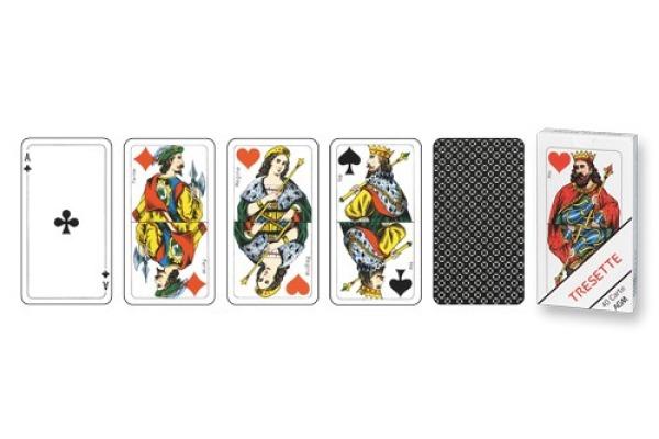 AGMÜLLER Spielkarten 106601224 Tresette Ornament, Vollcellux