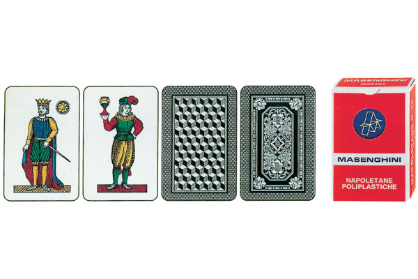 AGMÜLLER Spielkarten 106601352 Italienisch Etui