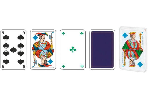 AGMÜLLER Jasskarten Piquet FR 57x89mm 106801115 Piquet 36 Karten