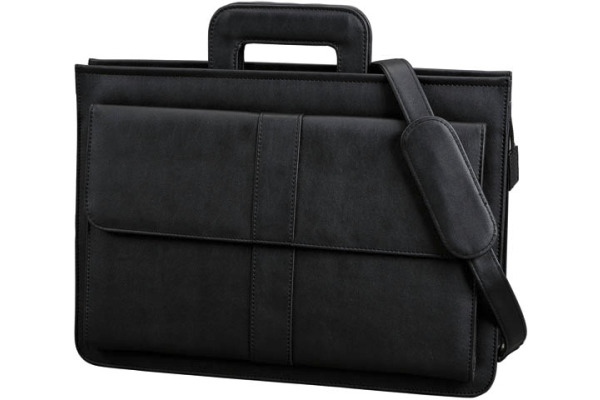 ALASSIO Dokumententasche Aversa 41024 43x32x12cm schwarz