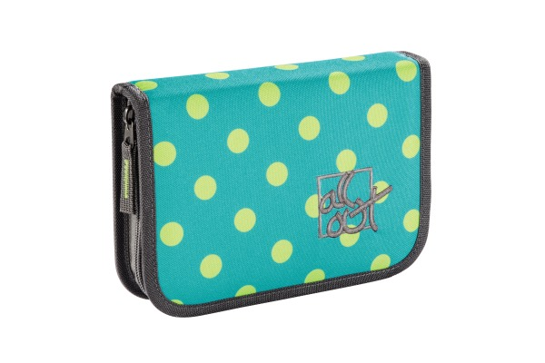 ALL OUT Federmäppchen Plymouth 138557 Mint Dots