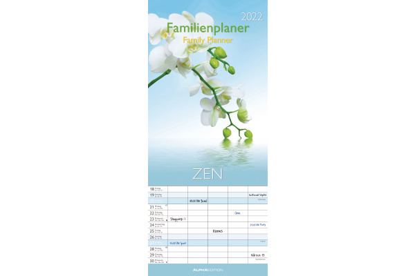 ALPHA EDITION Familienplaner Zen 35684152 DE F GB,...