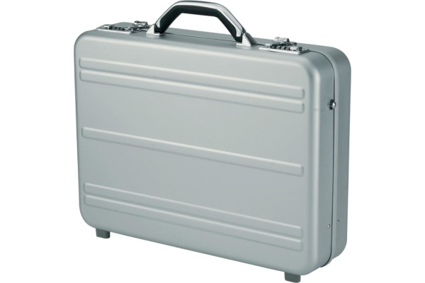 ALUMAXX Laptop-Attachékoffer MERCATO 45188 Aluminium silber