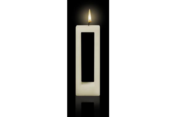 ALUSI Kerzen Quadra due 16cm AC0102 ca. 5,5h