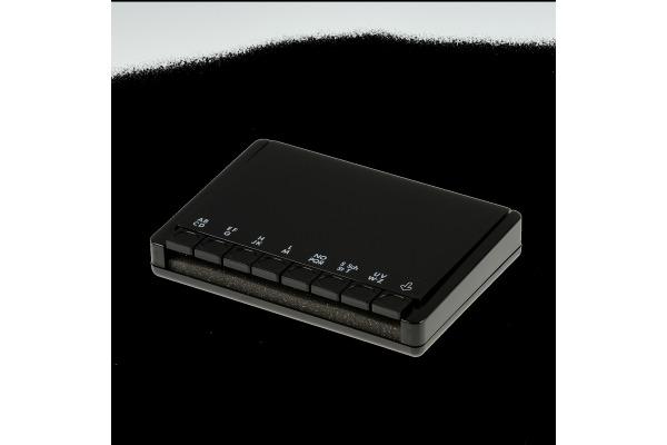 ARLAC Telefonregister Fonadress 155.01 18x12x3xm schwarz