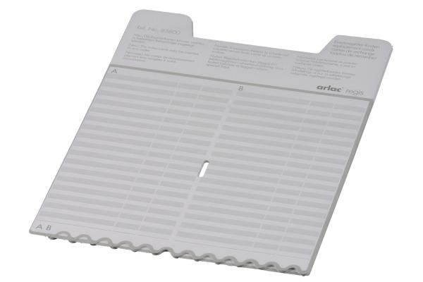 ARLAC Ersatz-Register 838 Regis