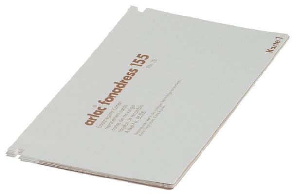 ARLAC Ersatz-Register 855 Fonadress