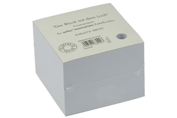 ARLAC Zettelbox Papier 10x10cm 880 weiss 800 Blatt