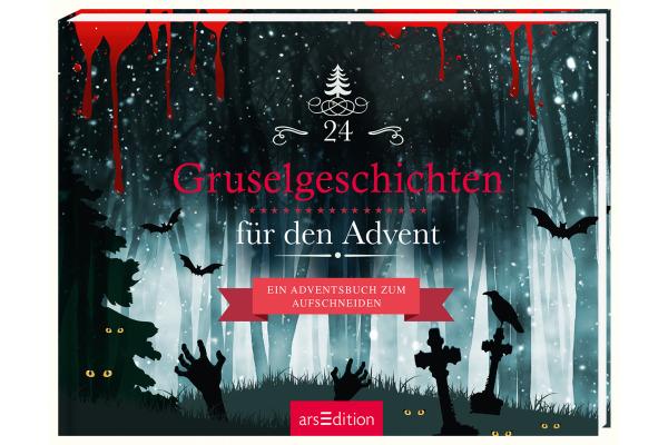 ARS EDITI Adventsbuch Gruselgeschichten 845821214 20,5x15,6cm/164 Seiten