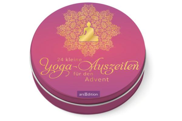 ARS EDITI Adventskalender in der Dose 489115236 Yoga 12cm
