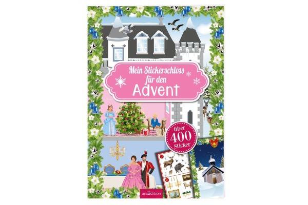 ARS EDITI Advents-Stickerheft - Schloss 845821252 21x29,7cm/24 Seiten