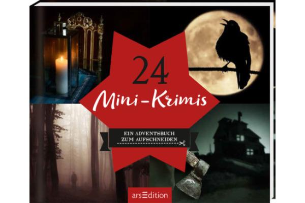 ARS EDITI Adventskalender 15.6x12.6cm 845826769 24 Mini-Krimis