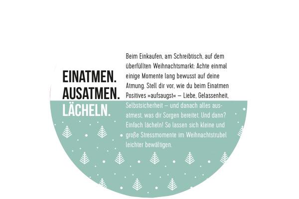 ARS EDITI Adventskalender 12x10cm 845832197 24 Momente der Achtsamkeit