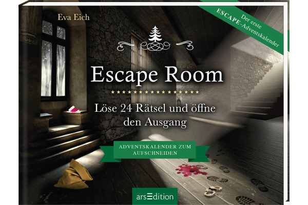 ARS EDITI Adventskalender 20.5x20cm 845832715 Escape Room