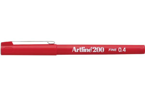 ARTLINE Fineliner 0,4mm EK-200-R rot