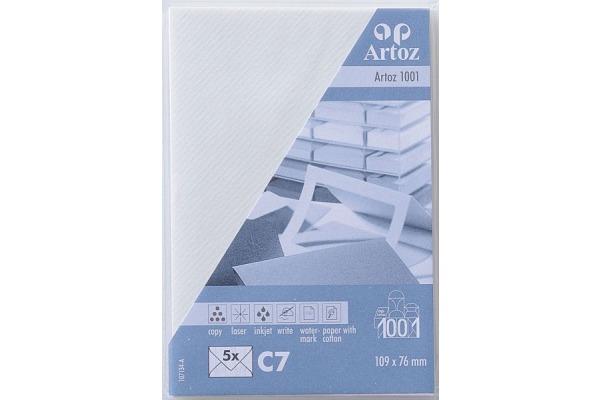 ARTOZ Couverts 1001 C7 107134182 100g, weiss 5 Stück