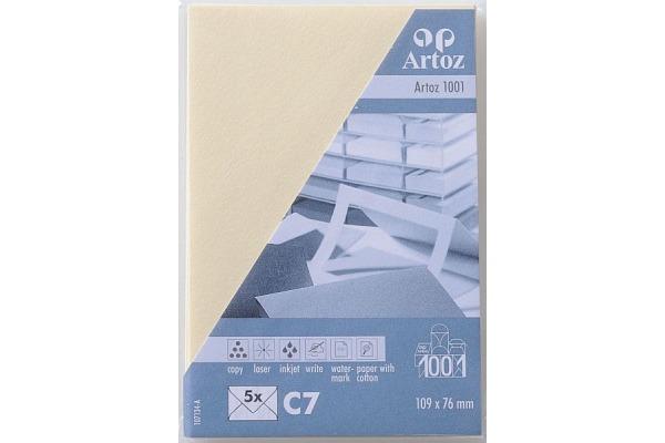 ARTOZ Couverts 1001 C7 107134182 100g, chamois 5 Stück