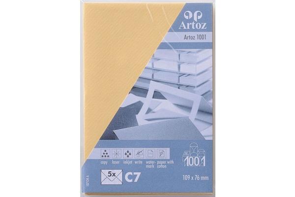 ARTOZ Couverts 1001 C7 107134182 100g, honiggelb 5 Stück