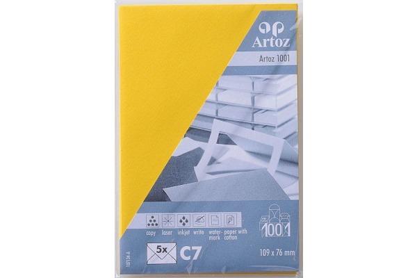 ARTOZ Couverts 1001 C7 107134182 100g, sonnengelb 5 Stück