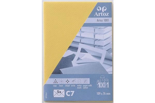 ARTOZ Couverts 1001 C7 107134182 100g, lichtgelb 5 Stück