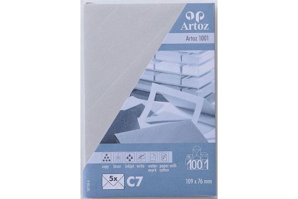 ARTOZ Couverts 1001 C7 107134182 100g, lichtgrau 5 Stück
