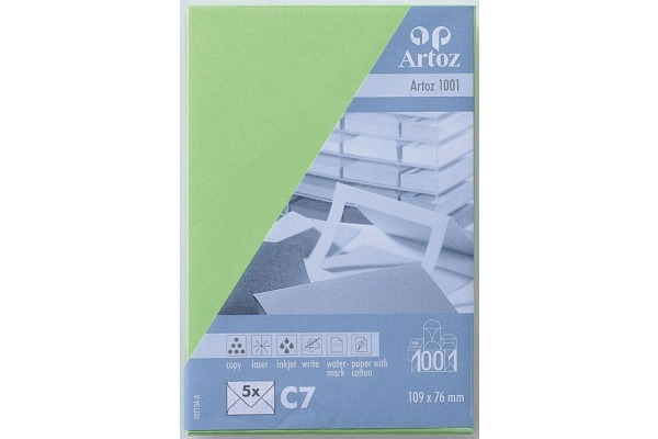 ARTOZ Couverts 1001 C7 107134183 100g, birkengrün 5 Stück