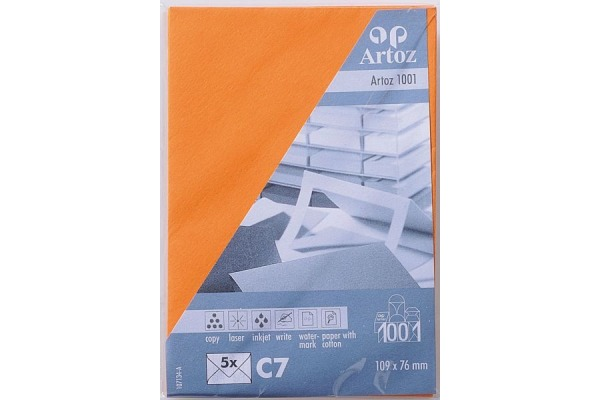 ARTOZ Couverts 1001 C7 107134185 100g, orange 5 Stück
