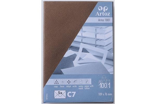 ARTOZ Couverts 1001 C7 107134186 100g, braun 5 Stück