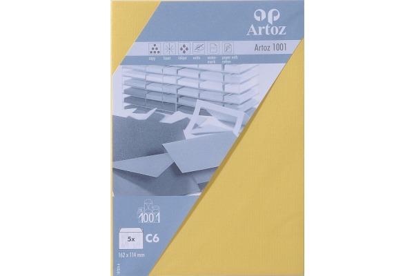 ARTOZ Couverts 1001 C6 107324182 100g, gelb 5 Stück