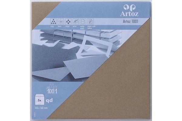 ARTOZ Couverts 1001 160x160mm 107454185 100g, olive 5 Stück