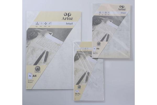 ARTOZ Couverts Antiqua C6 5 108294185 90g, grau 5 Stück