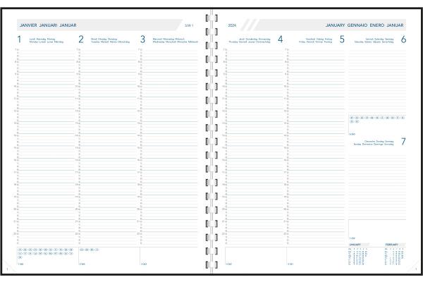 AURORA Daily Ersatz 1W/2S 2021 2700P f/nl/d/e/i/sp 21x27cm