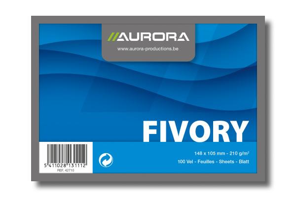AURORA Karteikarten blanko A6 42710 weiss 100 Stück