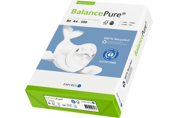 BALANCE Multifunktions-Papier A4 88152269 weiss,Recycling,80g,500 Blatt