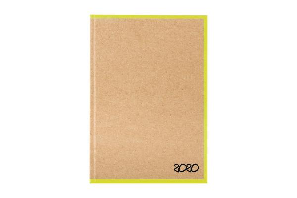 BIELLA Geschäftsagenda Skandal 2020 0808547.2 14,5x20,5cm 3½ T/1S gelb