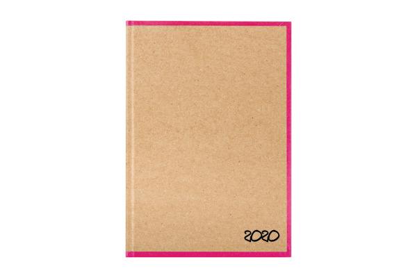 BIELLA Geschäftsagenda Skandal 2020 0808547.4 14,5x20,5cm 3½ T/1S pink
