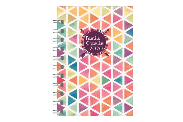 BIELLA Family Organizer Small 2020 0826535.0 Wire-O, 10,1x14,2 cm, 1W/2S