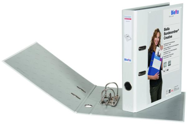 BIELLA Bundesordner Creative 4cm 10342401U weiss,...