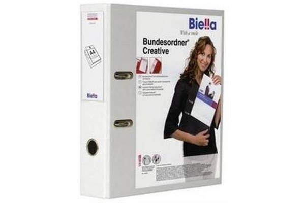 BIELLA Bundesordner Creative 7cm 10342701U weiss, mit...