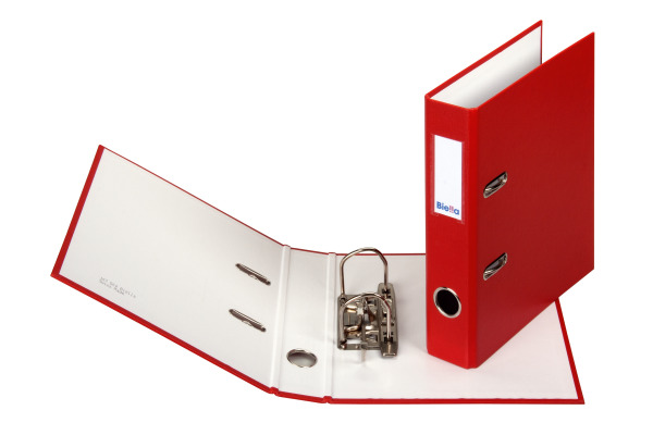 BIELLA Ordner 4cm 10750445 rot A5